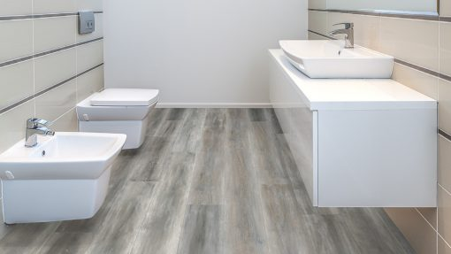 LT09 - ter Hürne Oak Dancefloor Laminate Wide Plank - Bathroom