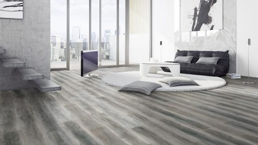 LT09 - ter Hürne Oak Dancefloor Laminate Wide Plank - Living Room