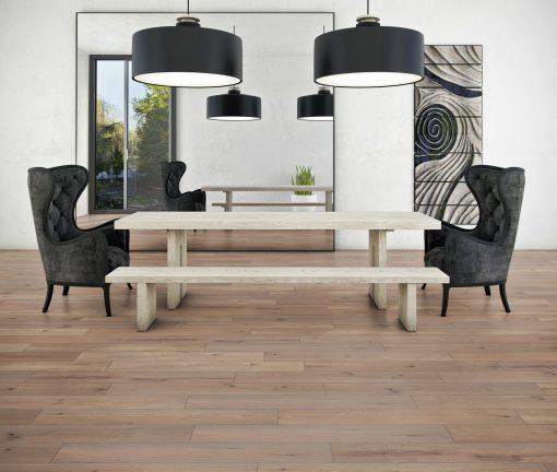LT10 - ter Hürne Oak Whisky Lounge Laminate Wide Plank - Living Room