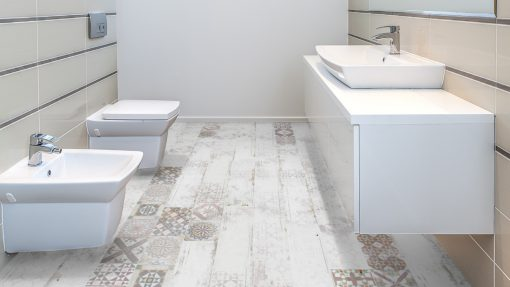 LT13 - ter Hürne Tile Georgetown Laminate Plank - Bathroom