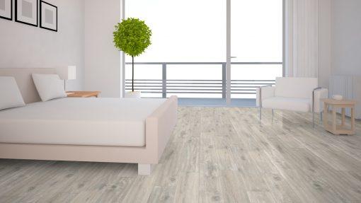 LT14 - ter Hürne Oak Loft Laminate Plank - Bedroom