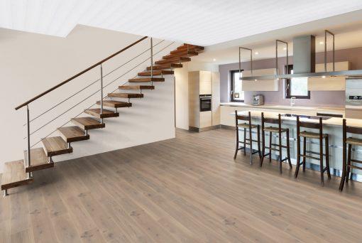LT15 - ter Hürne Oak American Diners Laminate Plank - Kitchen