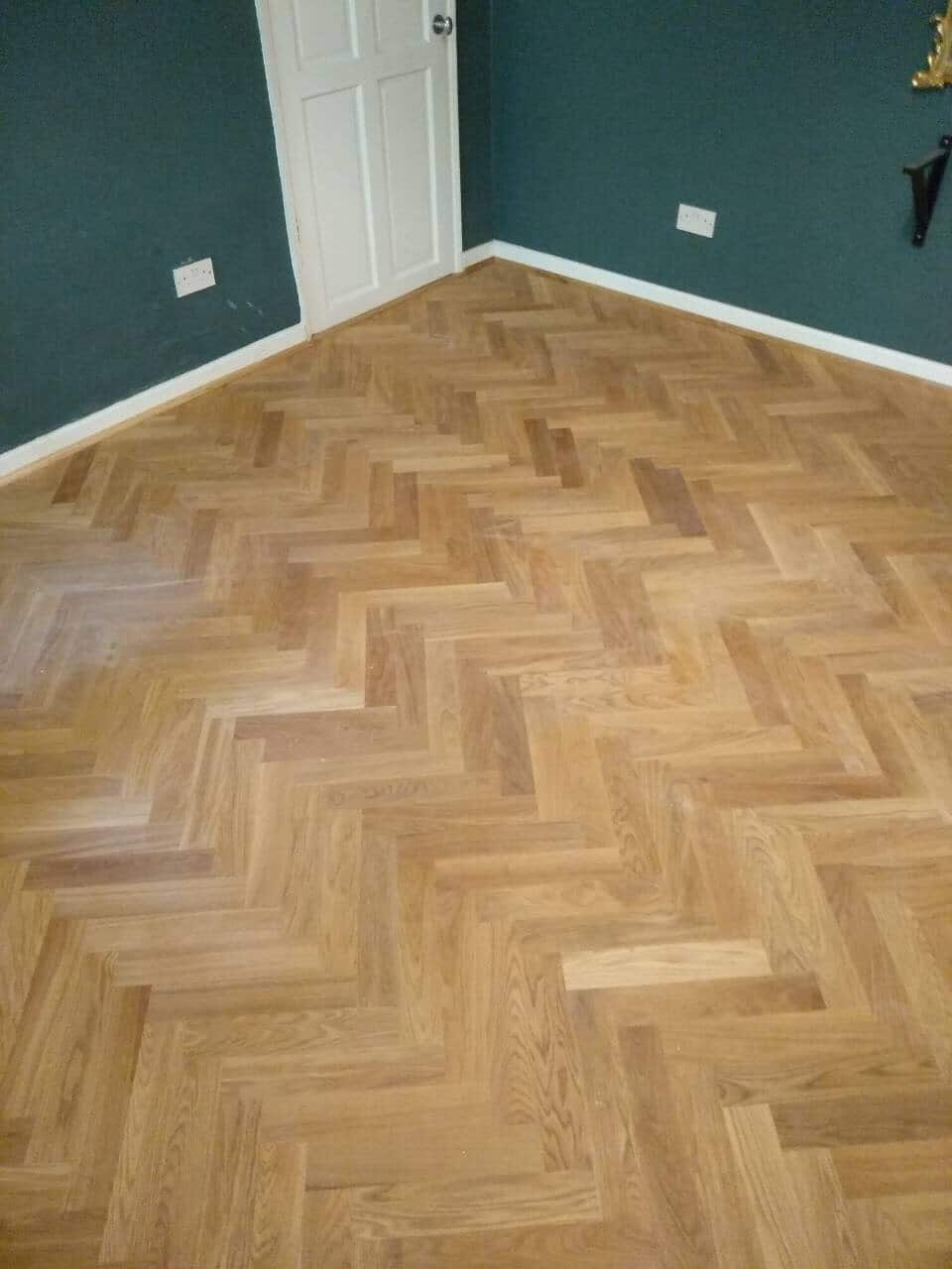 Travers And Crown Wharf Herringbone Engineered Wood Blocks