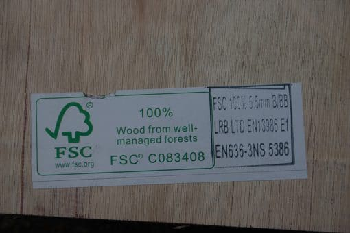 Flooring Plywood 5.5 mm 100% FSC