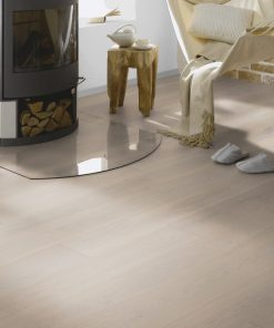 Silver Clamshell Lacquered Oak Wood Flooring Wood4floors