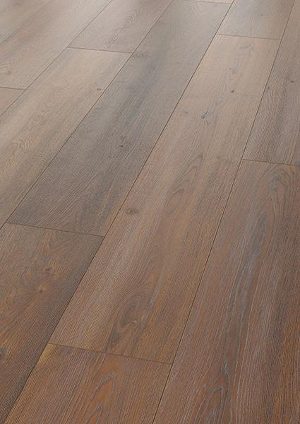 Avatara Oak Luna Sepia Brown Long Plank Man-Made Wood Floor