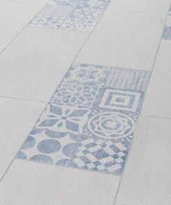 Avatara Stone Pandora Old White Tile Man-Made Wood Floor