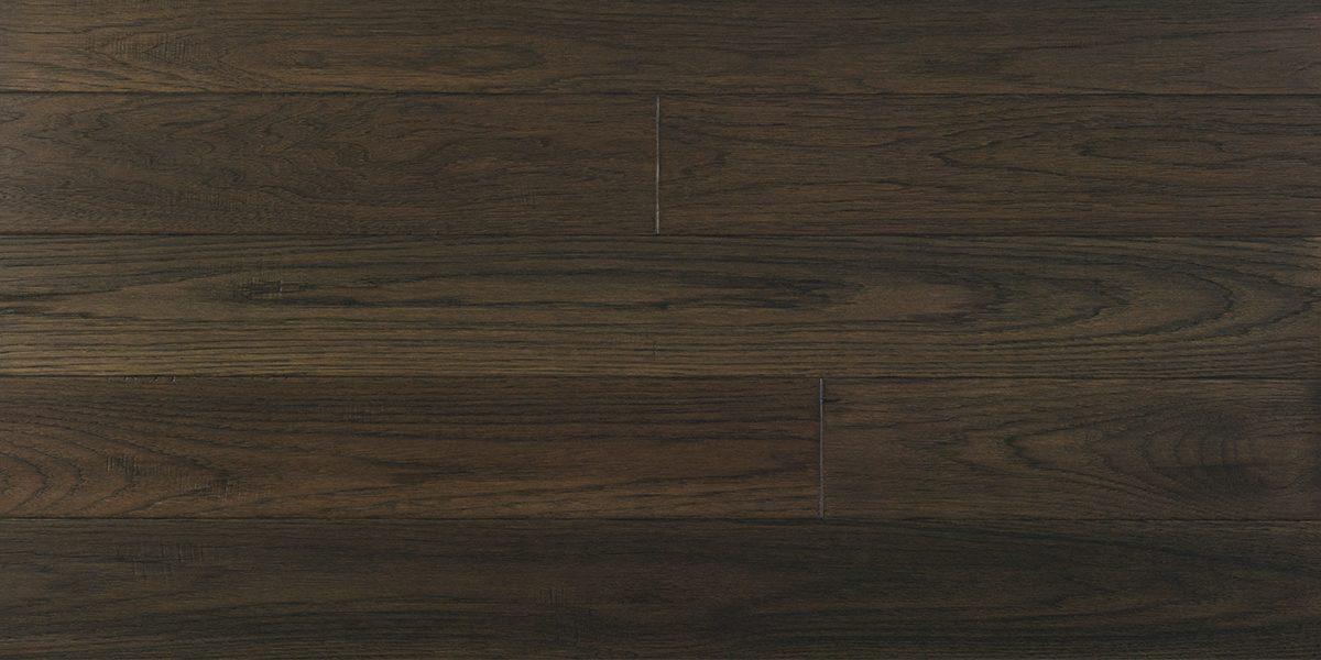 Ransomes Dock Handsed Solid Dark, Dark Oak Wood Laminate Flooring