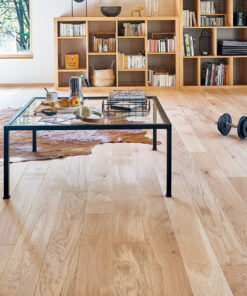 Classic French Oak Driftwood with French dual and single stave planks.